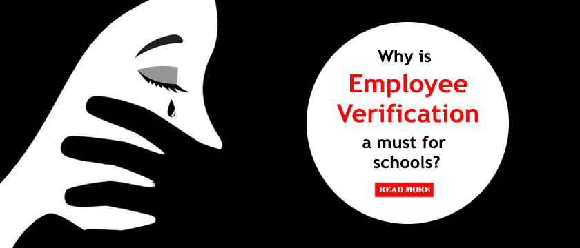 Why is employee verification a must for schools?
