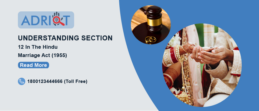 Understanding Section 12 In The Hindu Marriage Act (1955)
